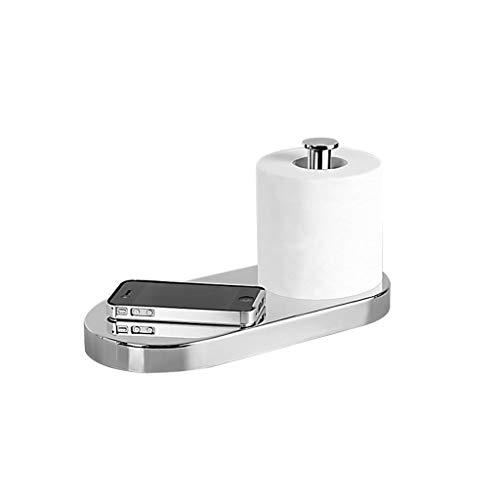 MGMDIAN Toallita de Papel Caja de pañuelos Cuarto de baño Cobre de Papel higiénico Portarrollos Bandeja de Rollo Trastero Impermeable