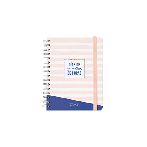 Mr. Wonderful Agenda Clásica, Multicolor, 17,6 X 21,3 X 2,8 cm