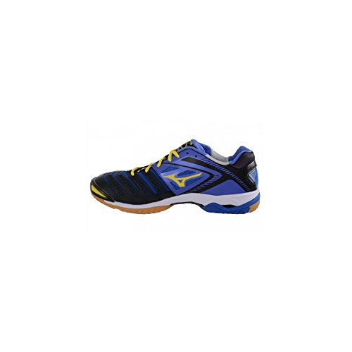 Mizuno–Wave Stealth 3, Chaussures de basketball femme blue