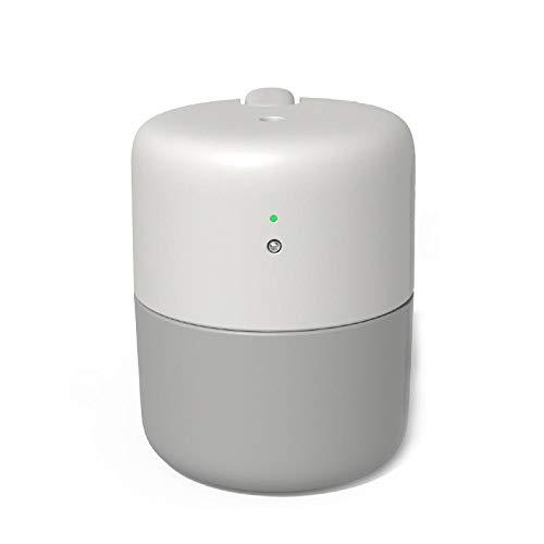 Luftbefeuchter 420ML USB Desktop Humidifier Silent Air Purifier large Volume Sprayer Touch-switch Smart Anti-dry Design Household@Grey -