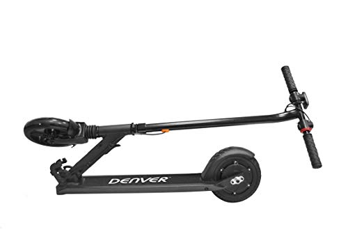 Denver Unisex Jugend SCO-80100 Elektro Roller, Schwarz, One Size