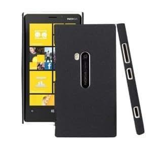 Bingsale® Schutzhülle Nokia Lumia 920 Hülle (harte Rückseite) matt Schwarz