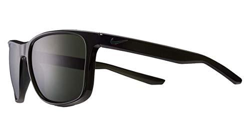 Nike Herren SB Unrest Sequoia/Cargo Khaki Sonnenbrille mit grünen Gläsern