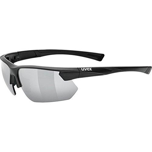 Uvex Unisex Erwachsene Sportstyle 221 Sportbrille, Black Mat, One Size
