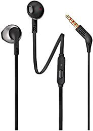 JBL T205 In-Ear Binaural Wired Black – Headphones (Wired, In-Ear, Binaural, Intraaural, 20 – 20000 Hz), JBLt20