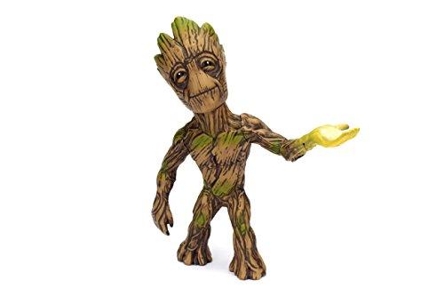 Jada Marvel Guardians of the Galaxy Groot - Metalfigs 10cm Sammelfigur 97967 detailgetreue Gestaltung, aus hochwertigem Diecast-Metall, verpackt in edler Fensterbox