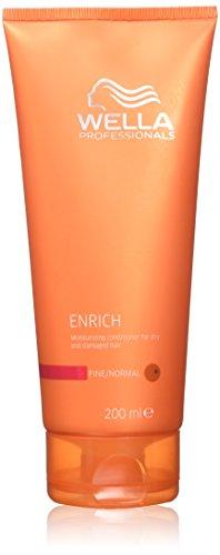 Wella - Enrich Moisturizing Conditioner For Dry &Amp; Damaged Hair (Fine/Normal) 200Ml/6.7Oz - Soins Des Cheveux