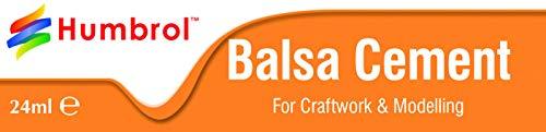 Humbrol Modellier-Kleber für Balsaholz, Zement, Tube, 24 ml -