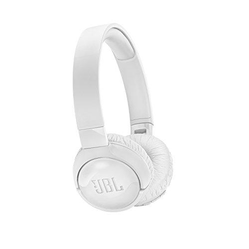JBL JBLT600BTNCWHT Tune 600BT Kabellose On-Ear-Kopfhörer mit aktivem Noise-Cancelling - Jbl Kopfhörer-sound-cancelling