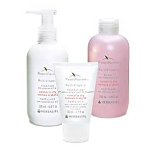 Herbalife Nourifusion Normal To Dry Kit(Cleanser, Toner, Moisturizer)