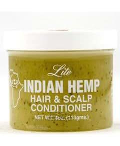 kuza lite indian hemp hair & scalp conditioner 4 oz