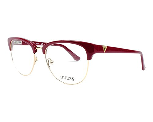 Montures Optiques Guess GU2528 C52 066 (shiny red   ) c9831d34aef3