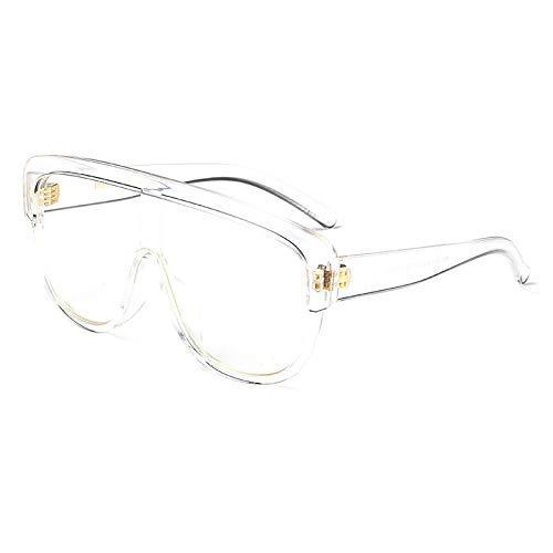 Wghz Brand Fashion Siamese Pilots Sungalss Frauen Männer Fahren und Reisen Sonnenbrille Oversize Double Color Sonnenbrille UV400