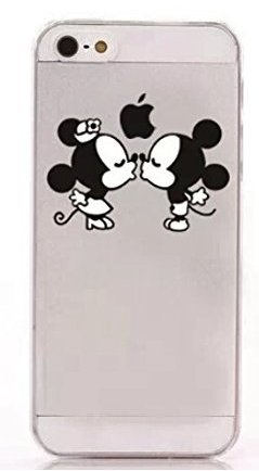 coque iphone 5/5s mickey minnie bisous