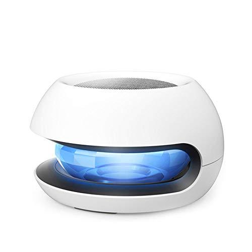ZOUQILAI Solar Auto Luftreiniger Kristall Magic Ball Negative Ionen Auto Aromatherapie Sterilisator Deodorant mit 7 LED Bunte Lichter