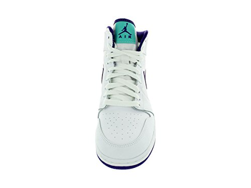Chaussures Nike Air Jordan 1 Retro High Gg Blanc / Violet / Blanc (blanc / Crt Violet-lt Rtr-blanc)