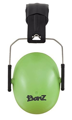 Baby BanZ Kids Earmuffs, Lime by Baby Banz