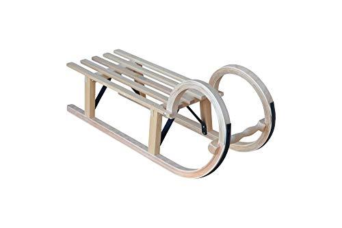 xelba Holzschlitten - Hörnerschlitten 100 cm