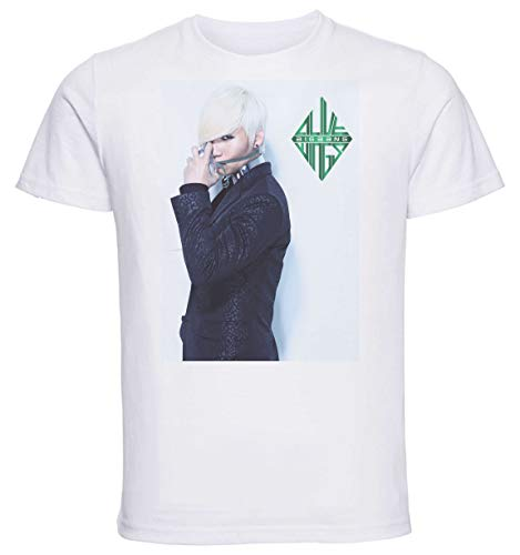 Instabuy T-Shirt Unisex - White Shirt - Kpop - Big Bang Alive Daesung Size Small