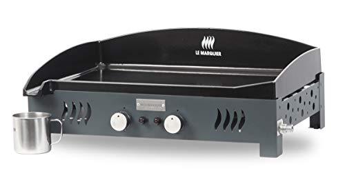LE MARQUIER Plancha Basque Ardoise - 2 brûleurs - 5,4 KW - 60 x 40 cm