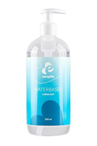 EasyGlide Lubricant Gleitmittel (500ml) Gleitgel auf Wasserbasis – Geruchs- & Geschmacksneutral – Pumpflasche – Gleitcreme für Sie & Ihn – Medizinisch PH – Sextoy erprobt – Prickelnd Intensiv