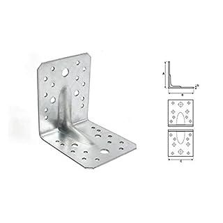 Stalco 50 x Winkel Winkelverbinder Bauwinkel Holzverbinder KPW mit CE Zulassung (KPW2 50x50x35 mm)