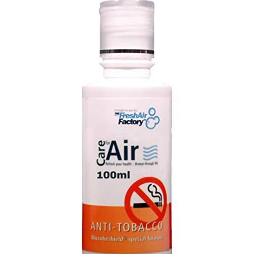 Duft für Luftreiniger - CareforAir Anti Tobacco Essence 100 ml - Citrusy und Duft Geruch - Entfernt Geruch und Geruch von Rauchen Zigarren und Zigaretten - Saubere, Riechende Luft - VERWENDEN SIE IN REVITALIZERS, IONIZERS, LUMENTE - 100% Produkt-Zufriedenheits-Garantie