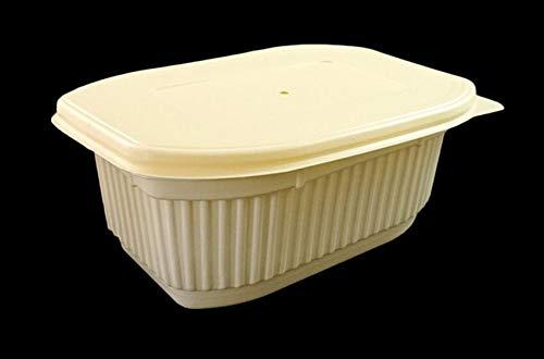 WWUUOOPRT Boîte à Lunch chauffante en Plastique PP à emporter jetable WWUUOOPRT