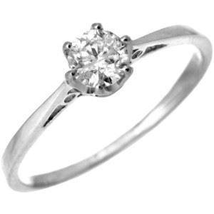 G&S Diamonds - 375 9 Karat (375) Weißgold Weiß/Wesselton (H) Diamant (Sein Hers Diamant-ring)