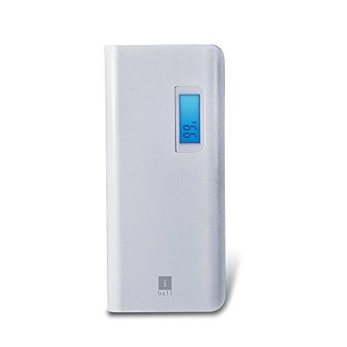 iBall PB1010710000mAH Lithium Polymer Power Bank (White-Grey)