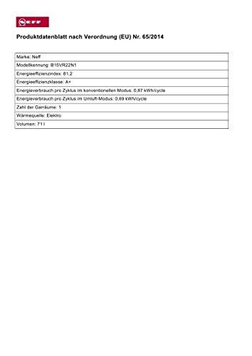 Neff Backofen BVR1522N (B15VR22N1) / VarioSteam, EasyClean / 12 Betriebsarten - 3