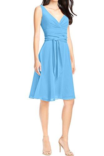 Ivydressing -  Vestito  - linea ad a - Donna Blau