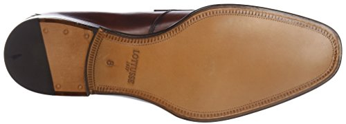 Lottusse L6868, Mocassini (Loafer) Uomo Marrone (Ebony Tabac)
