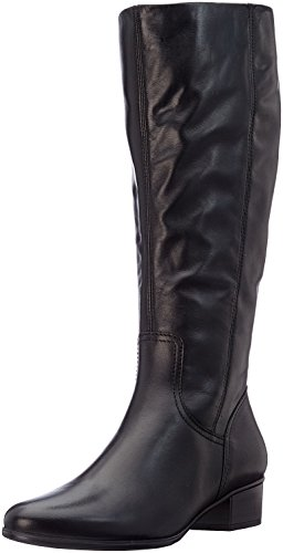 Gabor Shoes Damen Basic Stiefel, Schwarz (27 Schwarz), 40 EU