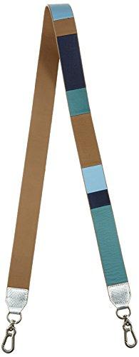 Liebeskind Berlin Damen Santana Marrak Schultergurt, Mehrfarbig (Lagoon Pacific Blue), 0,5 x 4 x 136 cm