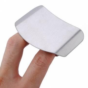 Edelstahl-Finger-Schutz-Schutz Sichere Hieb Helper