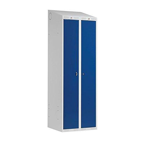 AJ Produkter AB 130302 Kombischrank Classic Combo mit 2 Türen, 1900 mm x 600 mm x 550 mm, Blau