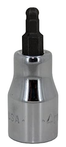 SK Hand Tool 45524 3/8-Inch Drive Ball Hex Bit Socket,