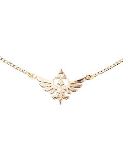 Zelda je101317zel Nintendo Golden Halskette Halskette mit