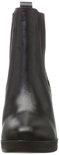 BIANCO Plateau Stiefelette, Stivali Donna nero (nero)
