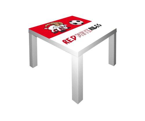 Preisvergleich Produktbild Fußball Möbelsticker / Aufkleber für den Tisch LACK von IKEA - FC08