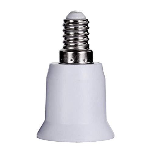 REFURBISHHOUSEE14 bis E26 E27 Adapter Kronleuchter Lampen Fassung E14 auf Mittlere Fassung E26 E27 Konverter Gluehlampen Fuss Adapter Konverter -