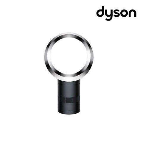 Dyson 300896-01 Cool AM06 Tischventilator mit Air Multiplier Technologie inklusive Fernbedienung, Energieeffizienter Ventilator mit Sleep-Timer Funktion, scharz/silber