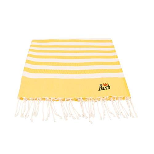 Saint barth mc2 telo mare riga grande giallo | mc2_foutas lig91 - os