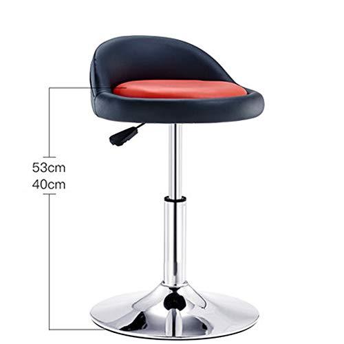 Chaise pivotante élévatrice - Tabouret de Bar Tabouret Haut - avec Table et Chaise de Bar de Restaurant Cuisine Moderne et Minimaliste-3