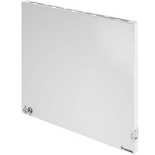 TecTake 800596 Hybrid Infrarotheizung mit Thermostat, Überhitzungs- und Überspannungsschutz, inkl. Wandhalterung - diverse Größen - (600Watt | Nr. 402978)