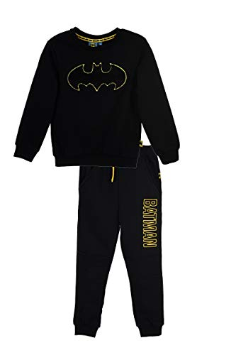 Batman Conjunto de Correr, Chándal para niño Negro 3 años