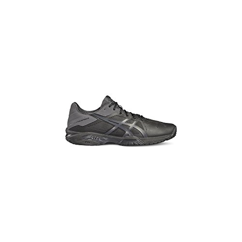 Asics Gel-Solution Speed 3, Scarpe da Ginnastica Uomo Nero (Black/Dark Grey)