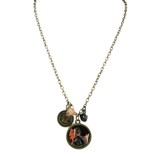 Games Hunger District Kostüme (The Hunger Games Movie Necklace Single Chain Katniss District)