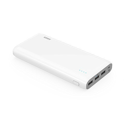 Anker Astro E7 Ultra Hohe Kapazität 26800mAh Powerbank Externer Akku 3-Port USB...